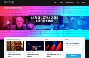 New Music USA's website