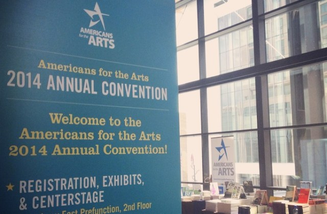 Last month's Americans for the Arts Convention brought together nearly 1,000 arts leaders from across the country in Nashville. Image: Kendra Danowski.