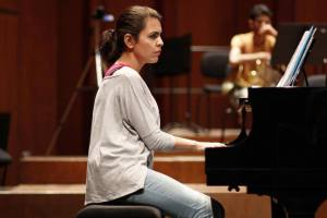National Youth Orchestra of Iraq's founder, Zuhal Sultan, imagined an orchestra that would break barriers and create opportunities to communicate through music. Image: