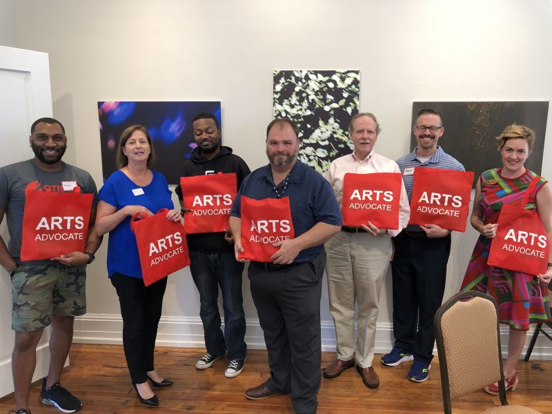 Justin Andrews (the Otis Redding Foundation), Aaron Buzza (Visit Macon and the Macon Film Commission), Jim Crisp (Theatre Macon), Joe Patti (the Grand Opera House), Jessica Walden (Rock Candy Tours), and Chris Wind (local musician)