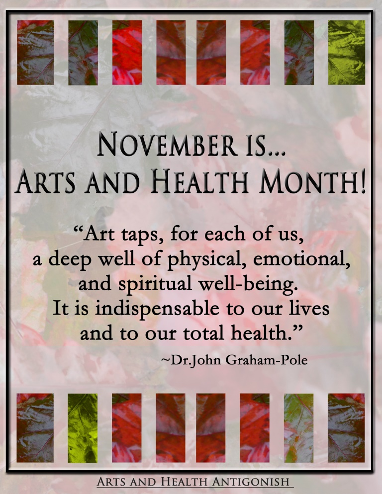 AHA! November Arts and Health Month | AHA!