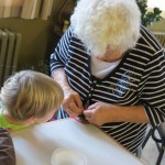 RK seniors and preschool make crafts