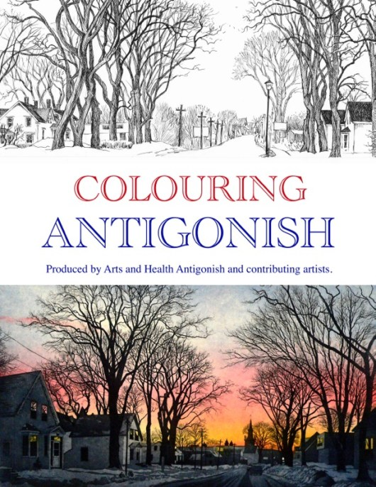 Colouring Antigonish with Arts Health Antigonish and local artis