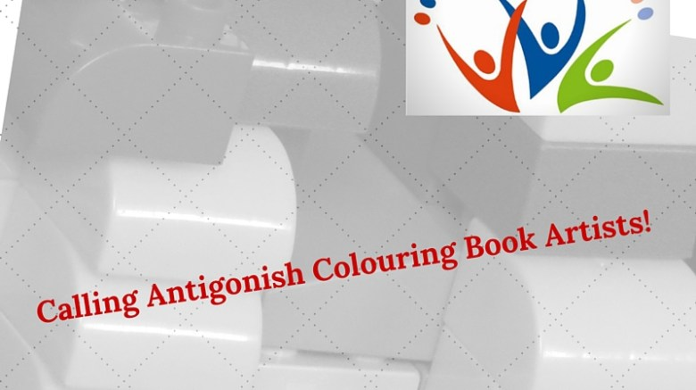 Calling Antigonish Colouring Book Artists!