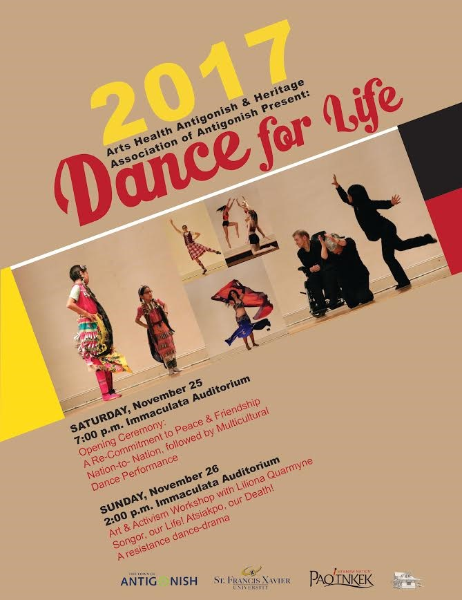 dance for life poster