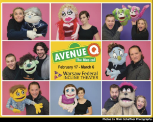 Avenue Q at Warsaw Federal Incline Theater