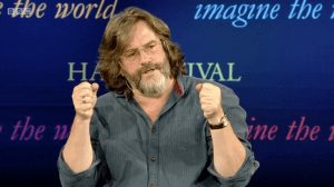 RSC Artistic Director Gregory Doran speaking at The Hay Festival