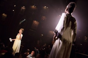 "Brittain Ashford and Denee Benton in ""The Great Comet"" at American Repertory Theatre in 2015"