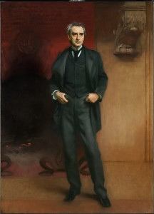 John Singer Sargent (1856-1925); Edwin Booth; 1890; Oil on canvas; Amon Carter Museum of American Art, Fort Worth, Texas; 2013.7