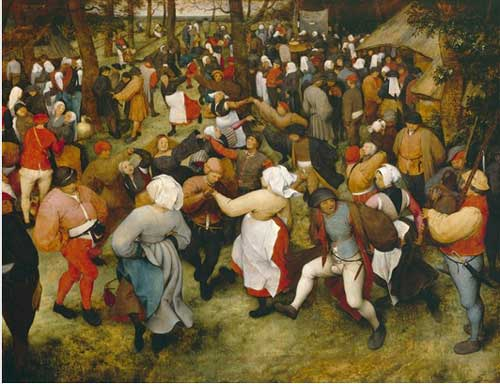 "Nothing to celebrate: Pieter Bruegel the Elder, ""The Wedding Dance,"" c. 1566, Detroit Institute of Arts"