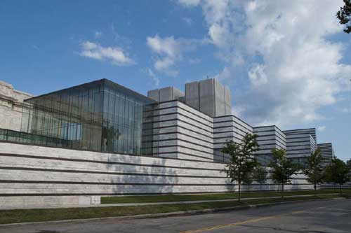 Cleveland Museum's Rafael Viñoly-designed East Wing, which opened in June 2009 Photo by Lee Rosenbaum