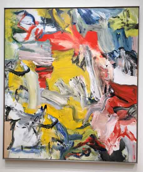 "de Kooning, ""Untitled XXI,"" 1976 Presale estimate: $25-35 million"