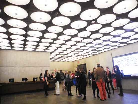 The Met Breuer's lobby Photo by Lee Rosenbaum