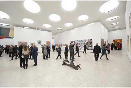 Städel Museum's new underground contemporary art galleries Photo: Städel Museum
