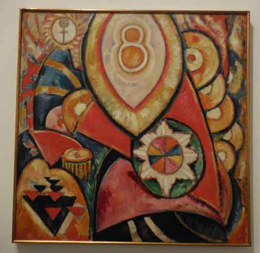 "Marsden Hartley, ""Painting No. 48,"" 1913"