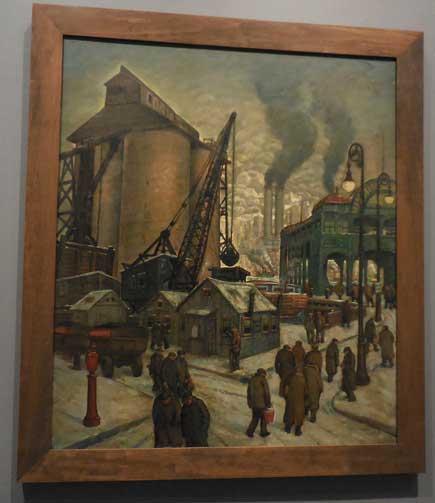 "Maurice Kish, ""Job Hunters,"" 1932-33"