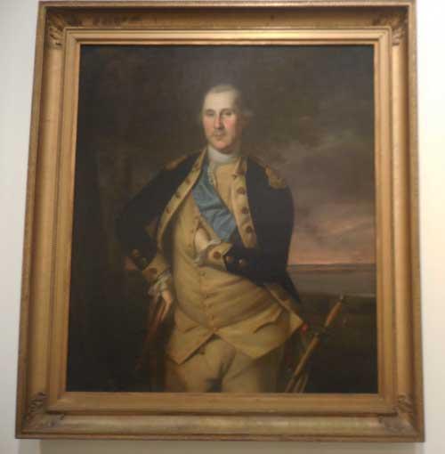 "Peale, ""George Washington,"" 1776"