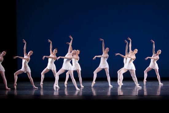 PNB's women in Balanchine's Concerto Barocco. Photo: Lindsay Thomas