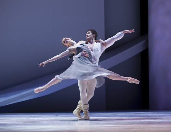The ill-fated lovers: Carla Körbes and Seth Orza. Photo: Angela Sterling