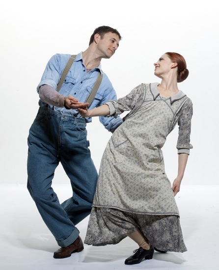 James Samson and Heather McGinley in To Make the Crops Grow. Photo: Paul B. Goode