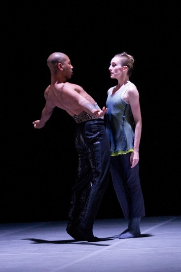 Kyle Abraham and Wendy Whelan in Abraham's The Serpent and the Smoke. Photo: Christopher Duggan