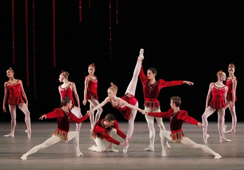 Terese Reichlin in Rubies. She's the one for them. Photo: Paul Kolnik