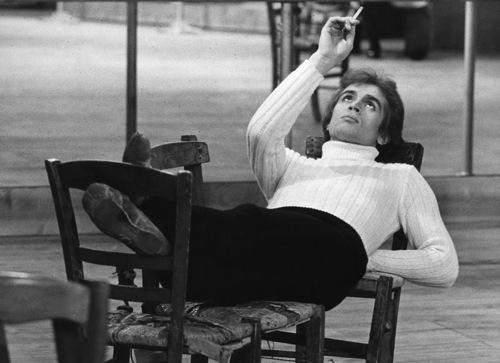 Rudolf Nureyev in Roland Petit's Le Jeune Home et la Mort. Photo: Jurgen Vollmer