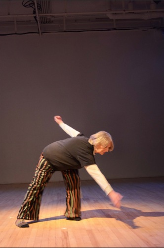 Sally Bowden in her Shift. Photo:Karen Robbins