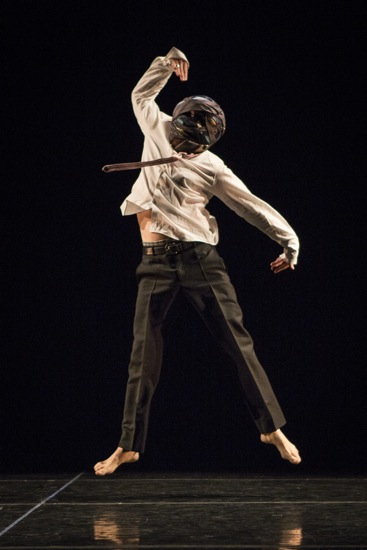 Stephen Petronio in his solo Stripped. Photo: Yi-Chun Wu