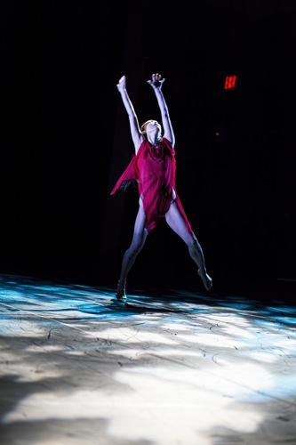 Miki Orihara dances José Limón's Maenad. Photo: Juan Vargas/Ellen Jacobs Associates