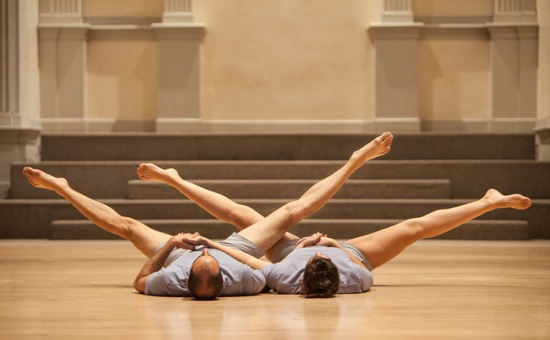 Oren Barnoy (L) and Nibia Pastrana Santiago in A Catalogue of Steps. Photo: Yi-Chun Wu