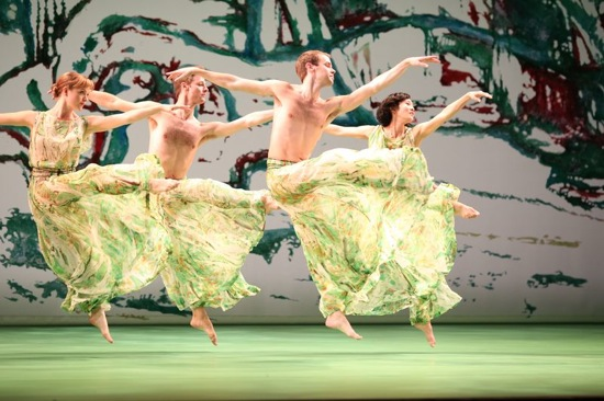The Mark Morris Dance Group in Acis and Galatea. Photo: Ken Friedman