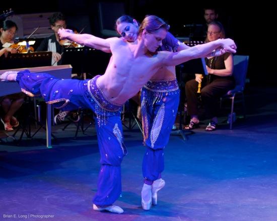 "Aynsley Inglis and Luke Tucker as ""Fairy Dancers."" Photo: Brian E. Long"