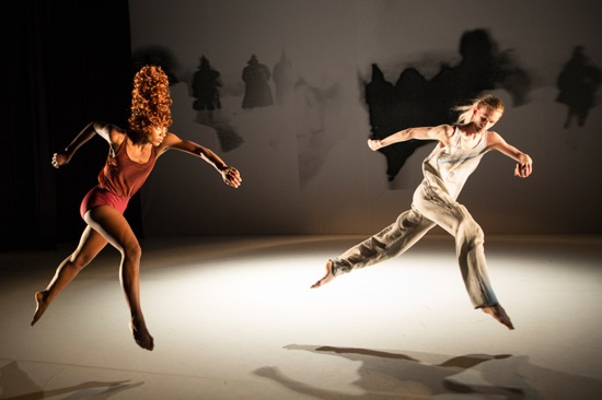 Catherine Ellis Kirk and Jordan Morley in Kyle Abraham's When the Wolves Came In. Photo: Yi-Chun Wu