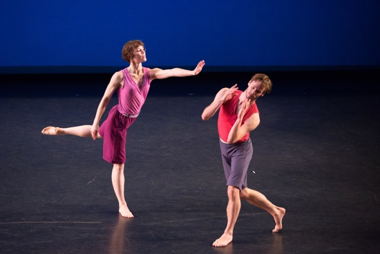 Laurel Lynch and Billy Smith in Mark Morris's Words. Photo: Ani Collier