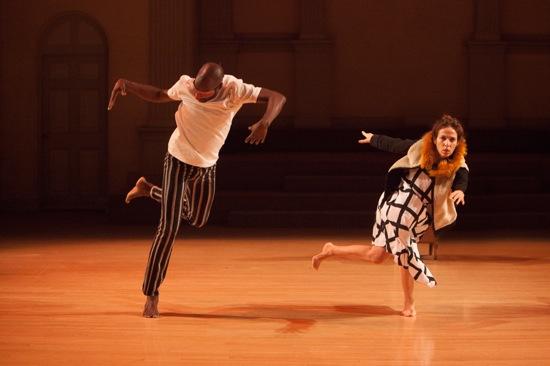 Paul Hamilton and Keely Garfield in Wow. Photo: Yi-Chun Wu