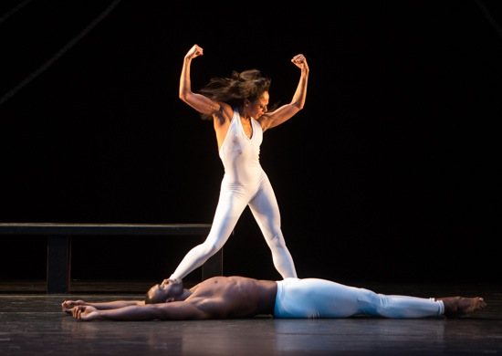 Linda Celeste Sims and Jamar Roberts in the December 5th performance of Bad Blood. Photo: Yi-Chun Wu