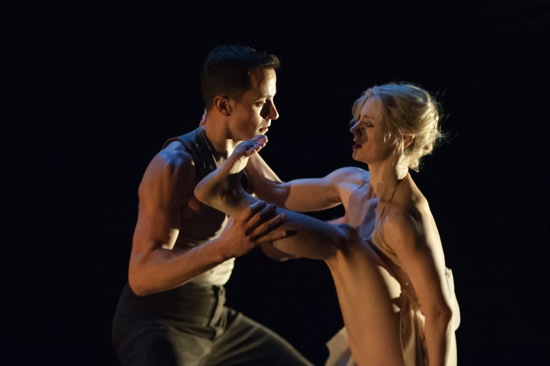 Douglas Gillespie and Leslie Kraus in Kate Weare's Bright Land. Photo: Keira Heu-Jwyn Chang