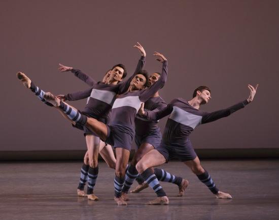 The 'Rōdē,ō quintet. (L to R): Daniel Applebaum (hidden), Allen Peiffer, Taylor Stanley, Craig Hall, and Andrew Scordato. Photo: Paul Kolnik