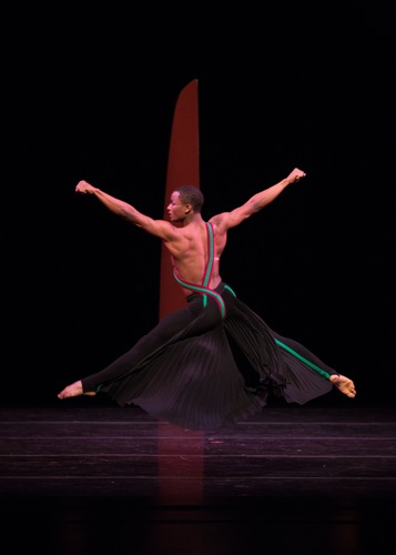 Jeffery Duffy as He Who Summons in Martha Graham's Dark Meadow. Photo: Rosalie O'Connor