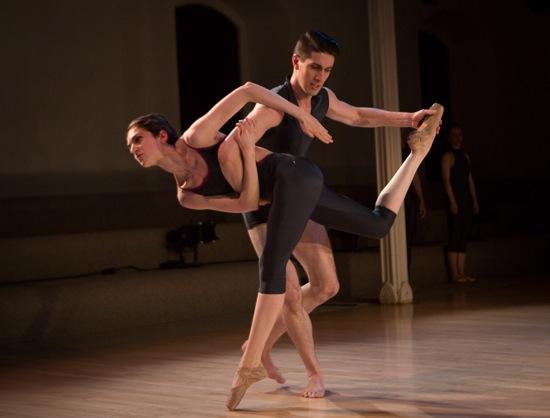 Giorgia Bovo and Michael D, Gonzalez in Cherylyn Lavagnino's Naděje. Yi-Chun Wu