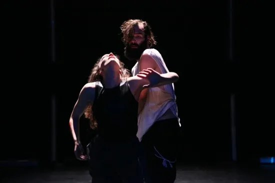 Troy Ogilvie and Nick Bruder in Patricia Noworol's Replacement Place. Photo: aeric/the photographer