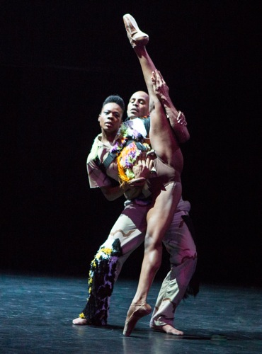 Ebony Williams displayed by Joaquim de Santana in My Generation. Photo: Yi-Chun Wu
