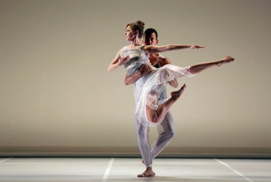 Maggie Cloud and Dylan Crossman in Tanowitz's Broken Story (wherein there is no ecstasy. Photo: Cory Weaver