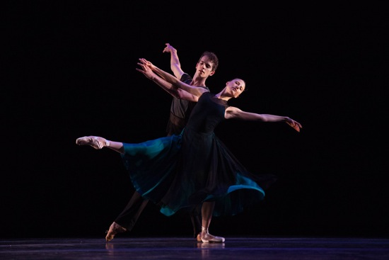 Sara Adams and Russell Janzen of Daniel Ulbricht & Stars of American Ballet in Justin Peck's Sea Change. Photo: Maura Geist
