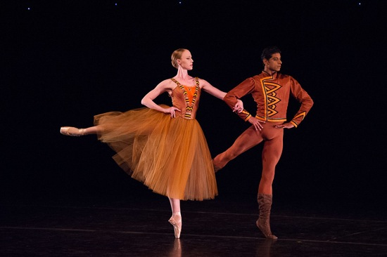 Teresa Reichlen and Amar Ramasar in Jerome Robbins's In the Night. Photo: Christopher Duggan