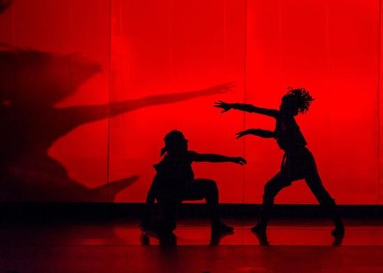 An image from Second Fanfare: Matthew Dibble and Rika Okamoto. Photo: Sharen Bradford - The Dancing Image