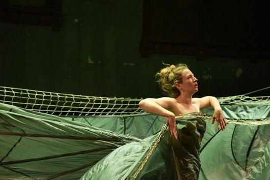 Anneke Hansen in her 2 hymn vb. Photo: Matt Hansen