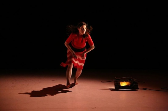 Tymberly Canale in Big Dance Theater's Summer Forever. Photo: Paula Court