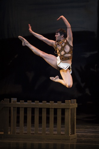 Jonathan Porretta in George Balanchine's Prodigal Son, choreography by George Balanchine Photo © Lindsay Thomas